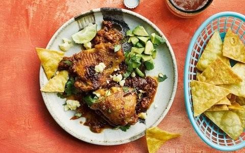 Tinga poblana de pollo (Mexican chicken stew) recipe