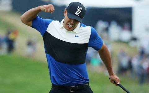 Brooks Koepka: New York crowd's choking jibes helped me to win USPGA