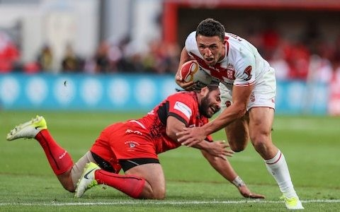 Injury rules Sam Burgess out of Great Britain's first series for 12 years