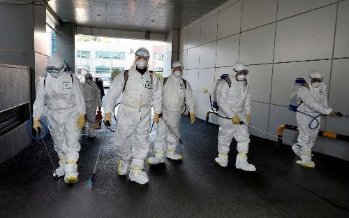 Coronavirus: Surge in South Korea virus cases linked to church 'super-spreader'