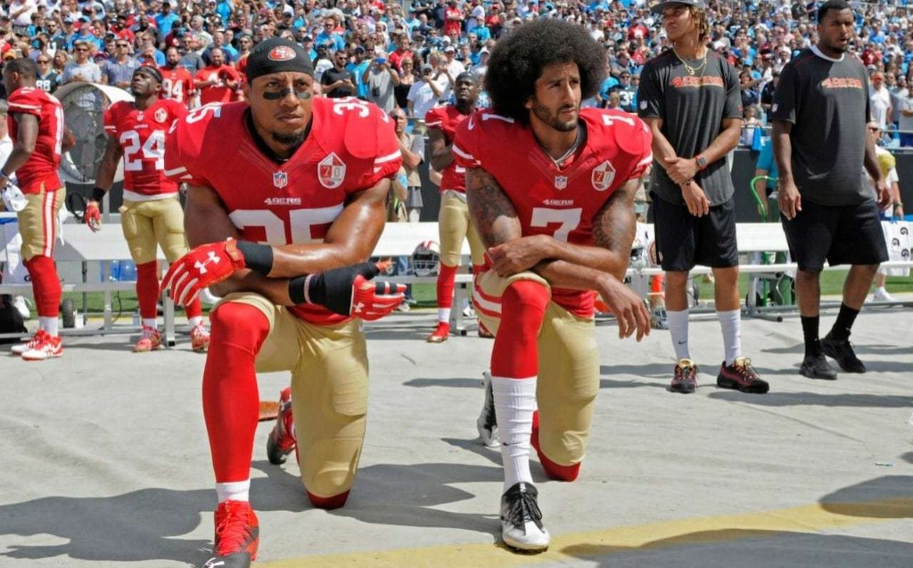 George Floyd protests: NFL chief admits he was wrong for not listening to players protesting against racism