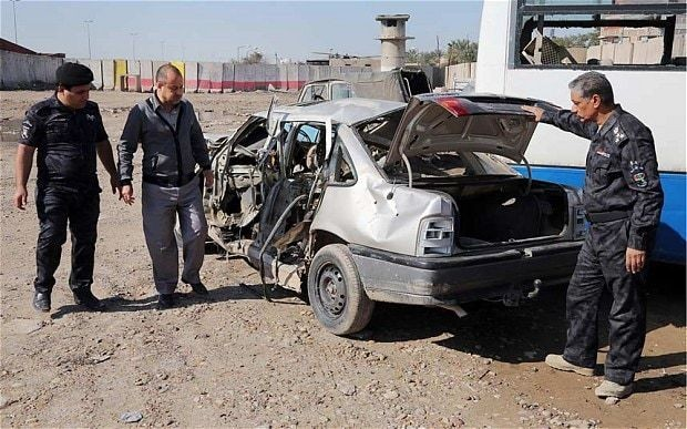Iraqi suicide bombing instructor accidentally kills himself and pupils