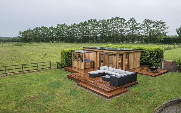 Luxury gazebos: Springing up in a British back yard near you
