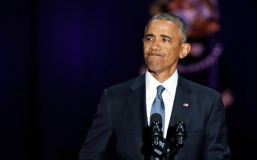 Madonna, Stephen King and others tweet heartfelt goodbyes to Barack Obama after his final speech as president