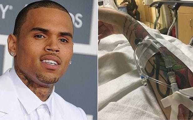Chris Brown criticised for mocking singer Kehlani after her reported suicide attempt