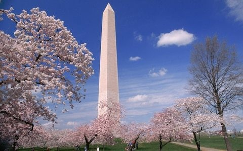 A walking guide to Washington DC's major monuments