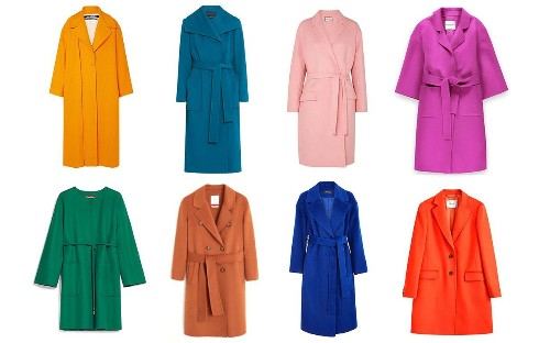 From £29.99 to £1,995: the best colourful coats to buy this winter