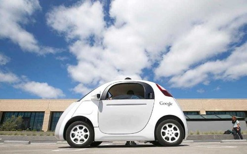 Google's meetings with UK Government over driverless cars revealed