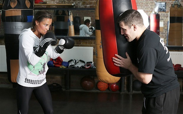Pippa Middleton's Boxing Bites: green chicken quinoa