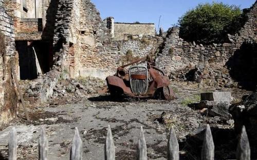 Oradour-sur-Glane, France: moments of Nazi massacre frozen in time