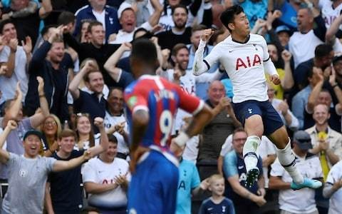 Tottenham deliver perfect response to summit talks as Son inspires thrashing of shell-shocked Crystal Palace