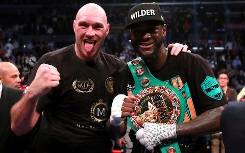 Tyson Fury and Deontay Wilder agree to trilogy of fights ahead of Las Vegas rematch