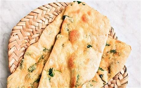 Rose Prince's baking club: garlic flatbread