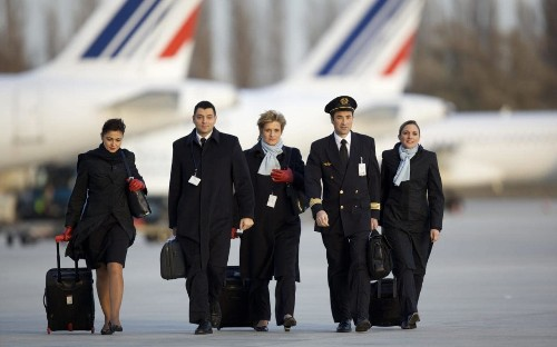 Gay Air France cabin crew in protest over Iran flights