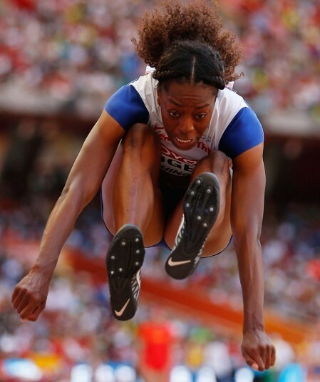 Gurning for gold: Facial expressions of long jumpers - Telegraph