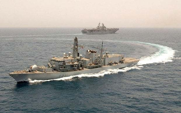 British warship monitors Russian frigate spotted in the English Channel