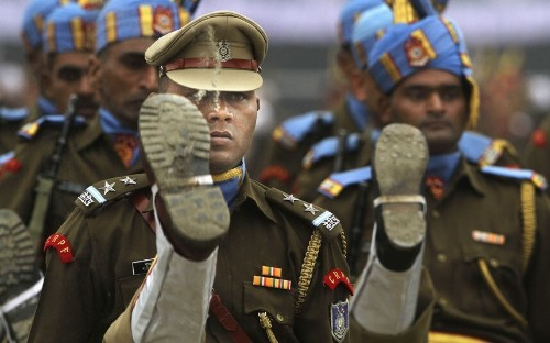 India celebrates 65th Republic Day with large military parade in New Delhi - Telegraph