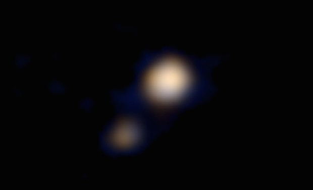 NASA releases first colour photo of Pluto