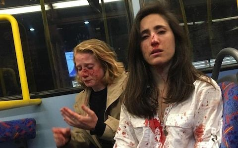 As two lesbians are attacked on a bus, when will homophobes learn we aren't their playthings?