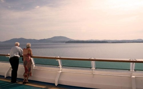 Meet the 86-year-old widow who's spent 10 years living on a cruise ship