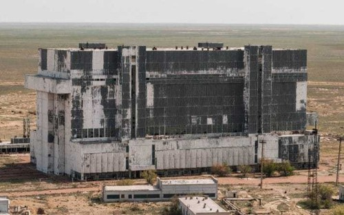 Russia's abandoned space shuttles at the Baikonur Cosmodrome, in pictures