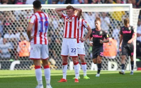 Leeds United cruise past Stoke as Nathan Jones admits poor start to season could cost him his job