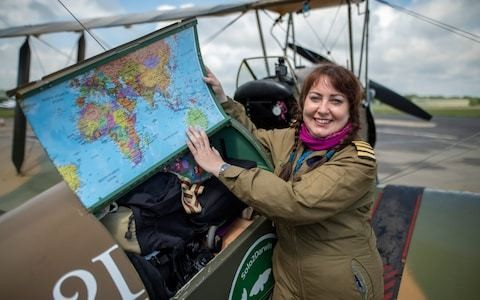 Amy Johnson's pioneering solo Australia flight to be recreated by female pilot