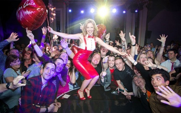 Kylie Minogue European tour tickets on sale