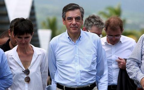 Francois Fillon faces protests as he begins campaign tour of Réunion