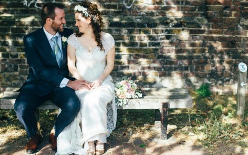 Is this the UK's first waste food wedding?