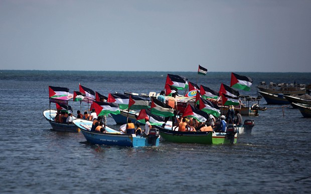 Activists set sail for Gaza aboard 'Freedom Flotilla'
