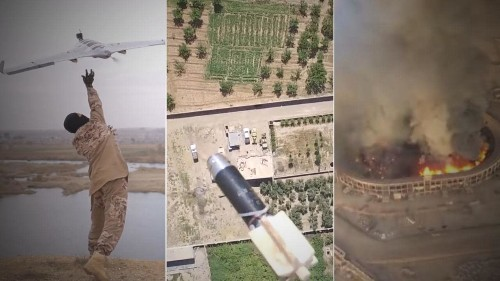 How insurgents across the Middle East turned drones into deadly weapons