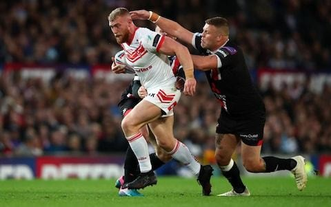 NRL clubs show interest in St Helens and Great Britain prop Luke Thompson