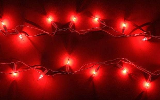 Christmas fairy lights can slow your broadband speed