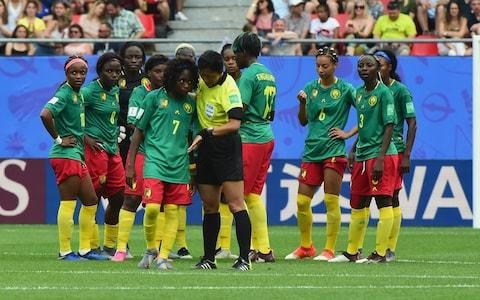Referee in England game twice overruled VAR advice to prevent Cameroon walking off in Women's World Cup clash