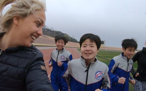 Olympian Aimee Fuller on swapping snowboarding for running a marathon in North Korea