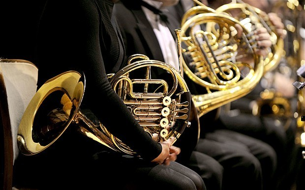 French horn players are most at risk of hearing loss in an orchestra