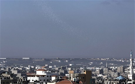 Gaza conflict: 100,000 Gazans warned to leave homes as Israel steps up bombing