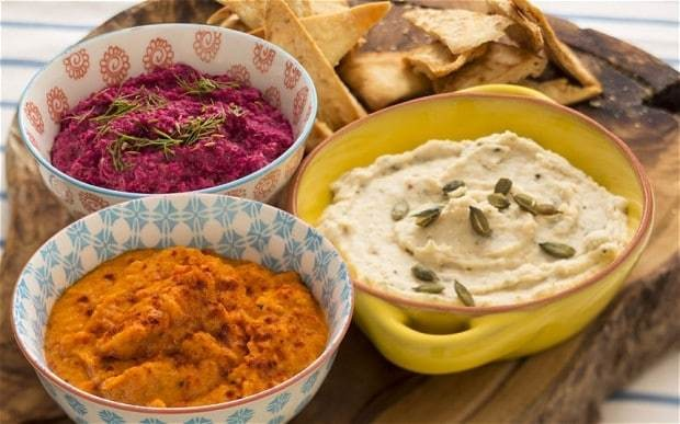 Bored of hummus? Three dips for Christmas parties