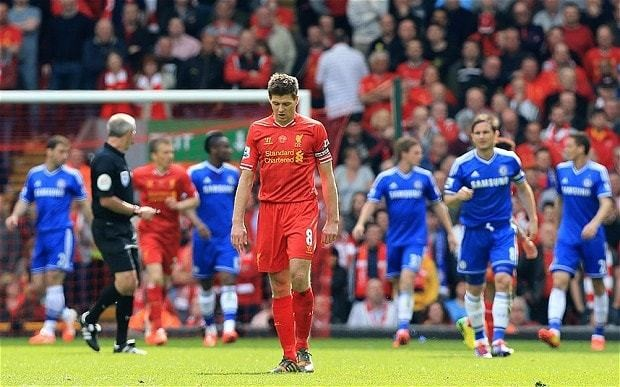 Steven Gerrard cannot take all the blame for Liverpool probably falling just short in Premier League title race