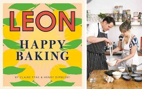 Claire Ptak and Henry Dimbleby's Leon Happy Baking cookbook review: 'A godsend for amateur bakers'