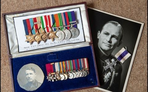 The descendant of the real life James Bond and the mystery of the missing medals