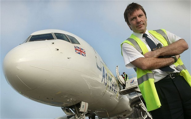 Iron Maiden's Bruce Dickinson is close to getting his airline off the ground