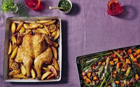 Six simple one-pan suppers to try next week