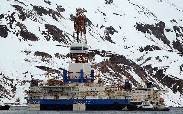 Barack Obama gives Shell go-ahead to drill for oil in Alaskan Arctic