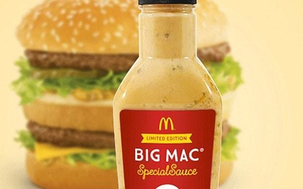McDonald's Big Mac sauce goes on sale (but only in Australia)