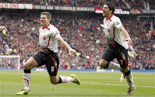 Liverpool captain Steven Gerrard says former team-mate Luis Suárez is 'too good for Arsenal' – with respect