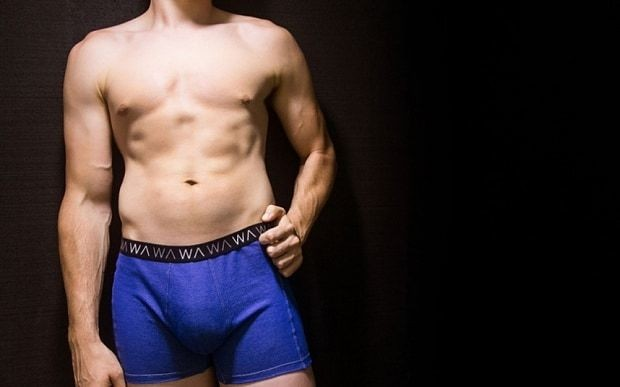 Pants 'for superheroes': Underwear that protects sperm count by blocking smartphone radiation