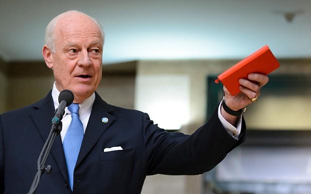 Syrian opposition arrives in Geneva for talks