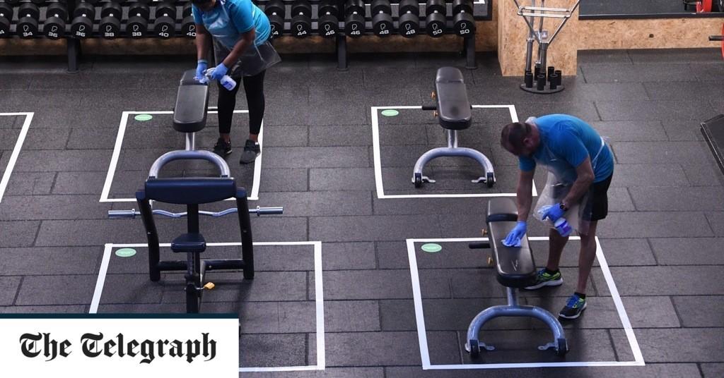 Indoor gyms to reopen next week